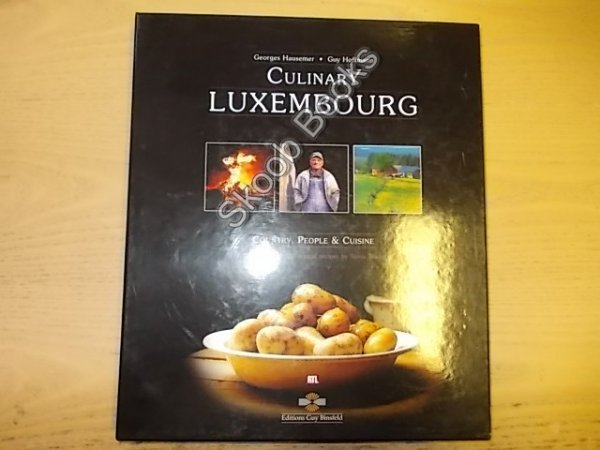 Image for Culinary Luxembourg: Country, People & Cuisine