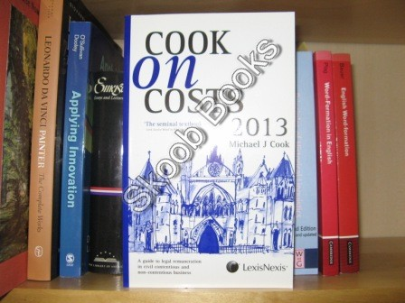 Image for Cook on Costs 2013