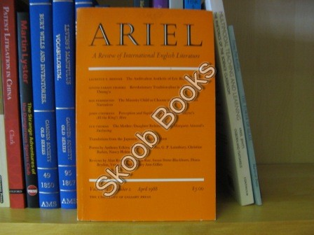 Image for Ariel, A Review of International English Literature: Volume 19, Number 2, April 1988