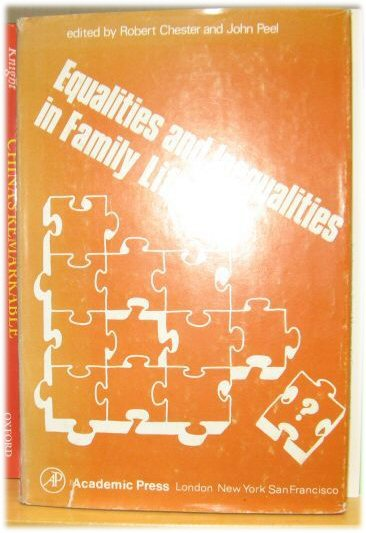 Image for Equalities and Inequalities in Family Life