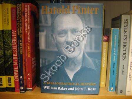 Image for Harold Pinter: A Bibliographical History