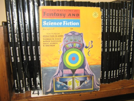 Image for The Magazine of Fantasy and Science Fiction; August 1967