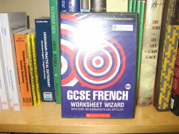 Image for GCSE French Worksheet Wizard Key Srage 04