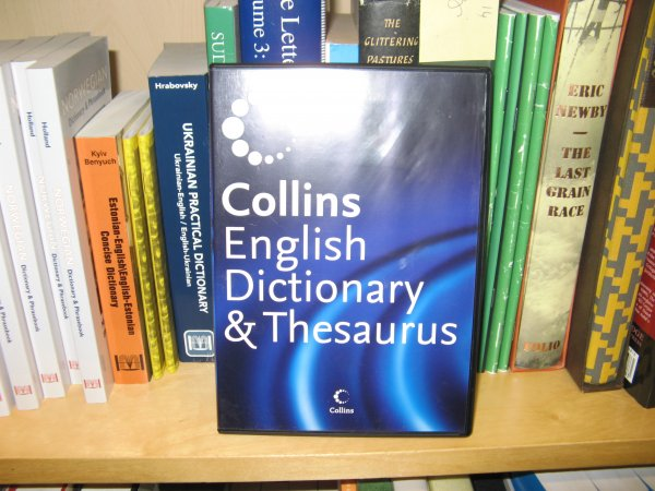 Image for Collins English Dictionary and Thesaurus