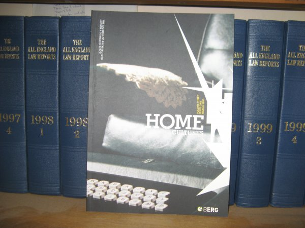 Image for Home Cultures: Volume 3, Issue 1, March 2006
