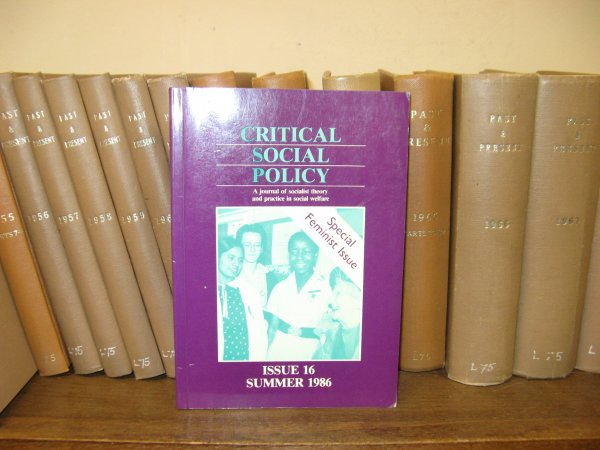 Image for Critical Social Policy; Issue 16, Volume 6, Number 1, Summer 1986