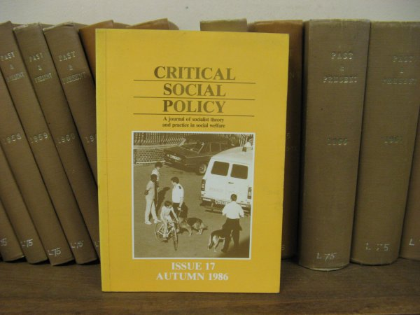 Image for Critical Social Policy; Issue 17, Volume 6, Number 2, Autumn 1986