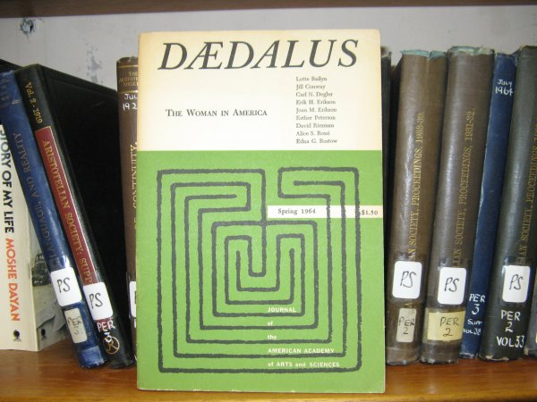 Image for Daedalus: The Woman in America, Spring 1964