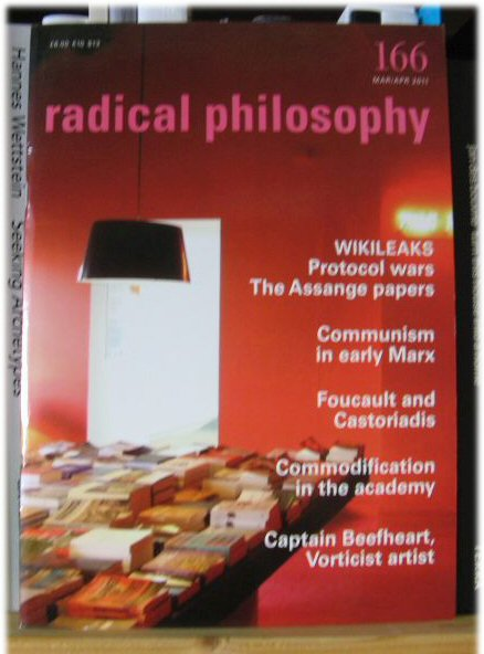 Image for Radical Philosophy 166: Mar/Apr 2011