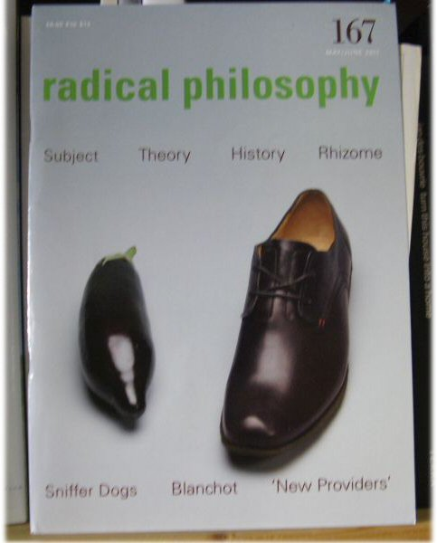 Image for Radical Philosophy 167: May/June 2011