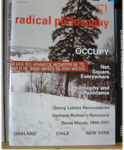 Image for Radical Philosophy 171: Jan/Feb 2012