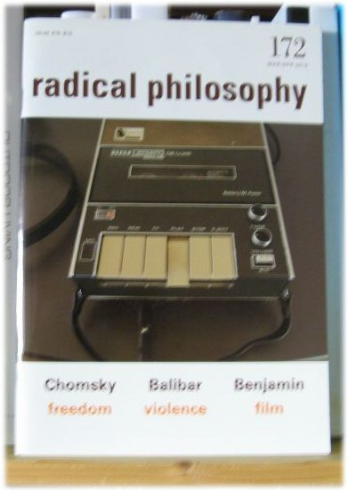 Image for Radical Philosophy 172: Mar/Apr 2012