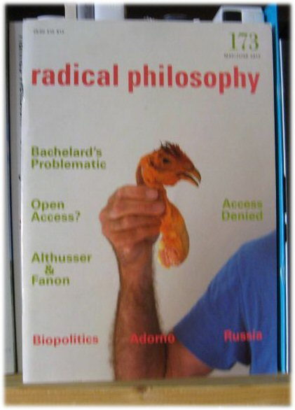 Image for Radical Philosophy 173: May/June 2012
