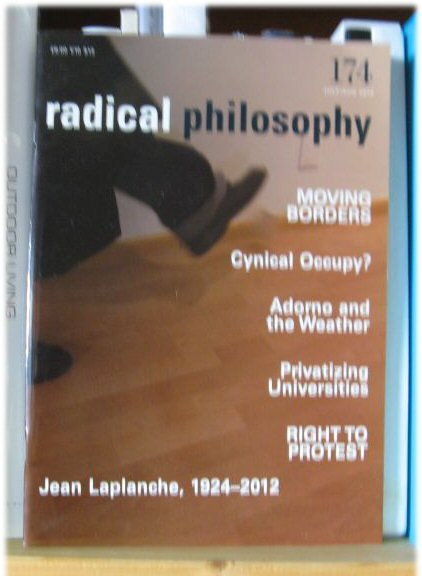 Image for Radical Philosophy 174: July/Aug 2012