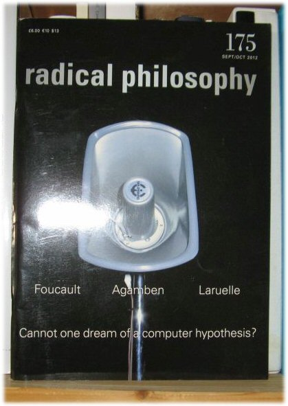 Image for Radical Philosophy 175: Sept/Oct 2012