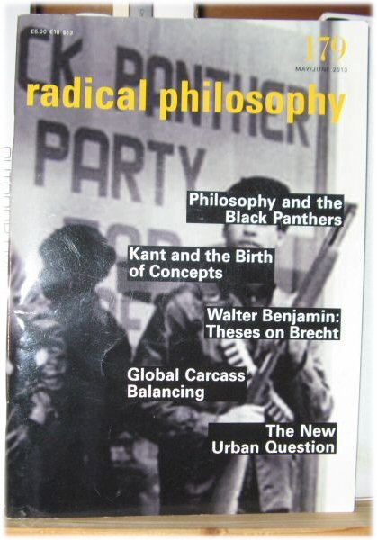 Image for Radical Philosophy 179: May/June 2013