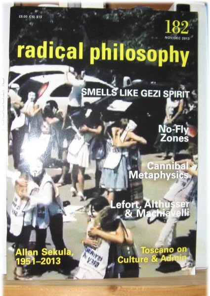 Image for Radical Philosophy 182: Nov/Dec 2013