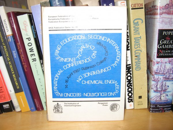 Image for Chemical Engineering Education: 2nd: Conference Proceedings