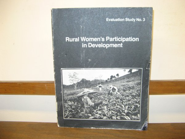Image for Rural Women's Participation in Development, Evaluation Study No. 3