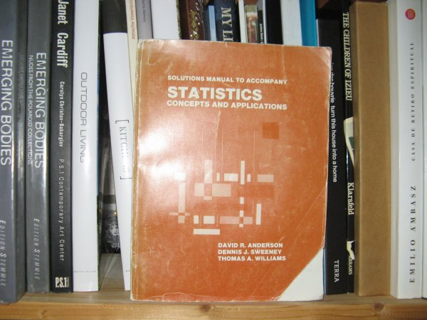 Image for Solutions Manual to Accompany Statistics: Concepts and Applications
