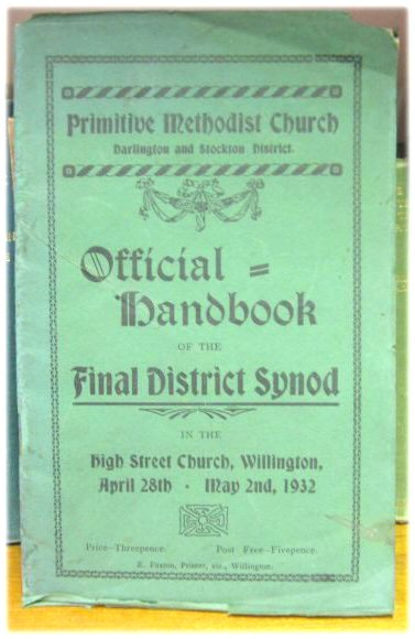 Image for Official Handbook of the Final Distict Synod