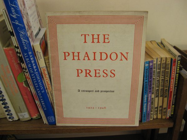 Image for The Phaidon Press: A Retrospect and Prospectus, 1923-1948