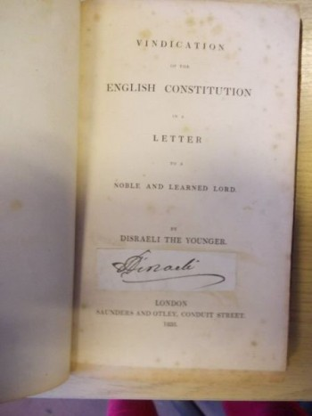 Image for Vindications of the English Constitution in a Letter to a Noble and Learned Lord