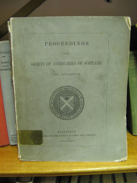 Image for Proceedings of the Society of Antiquaries of Scotland, Volume XII, Part II