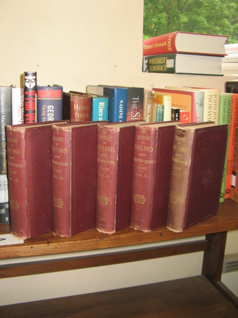 Image for A History of Ireland in the Eighteenth Century; 5 Volumes Set