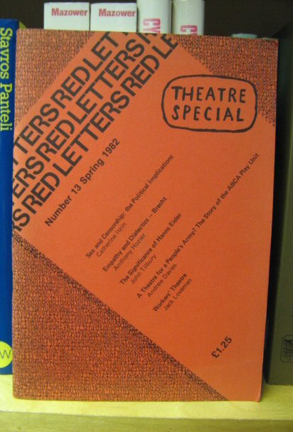 Image for Red Letters: Number 13, Spring 1982