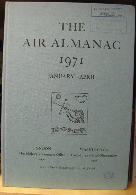 Image for The Air Almanac: January - April 1971
