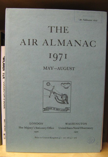 Image for The Air Almanac: May - August 1971