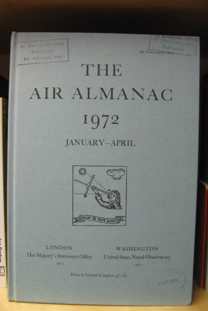 Image for The Air Almanac: January - April 1972