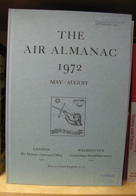 Image for The Air Almanac: May - August 1972