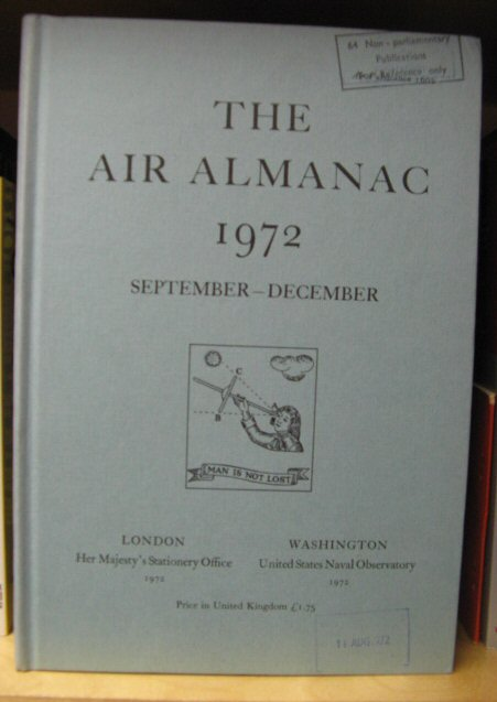 Image for The Air Almanac: September - December 1972