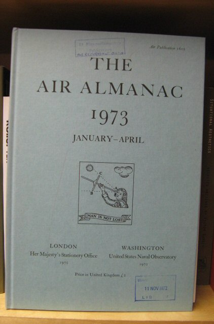 Image for The Air Almanac: January - April 1973