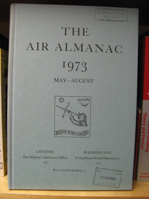 Image for The Air Almanac: May - August 1973