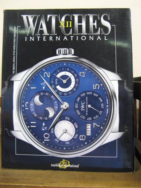 Image for Watches International: Volume XII