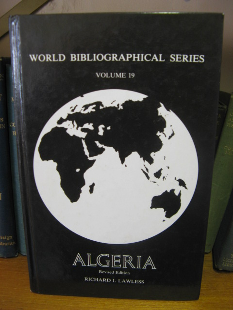 Image for Wold Bibliographical Series, Volume 19: Algeria