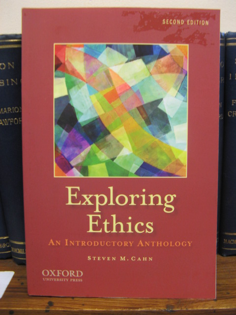 Image for Exploring Ethics: An Introductory Anthology