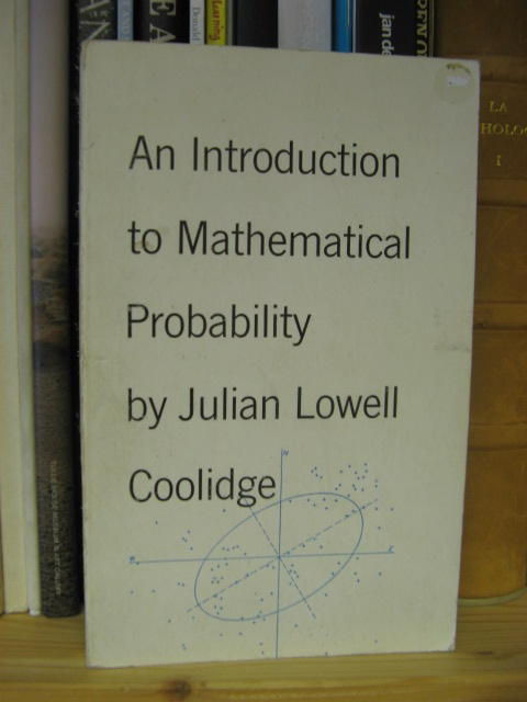 Image for An Introduction to Mathematical Probability