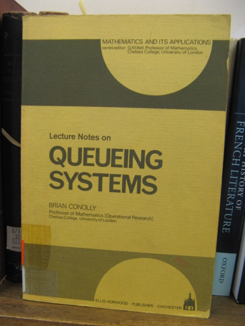 Image for Lecture Notes on Queueing Systems