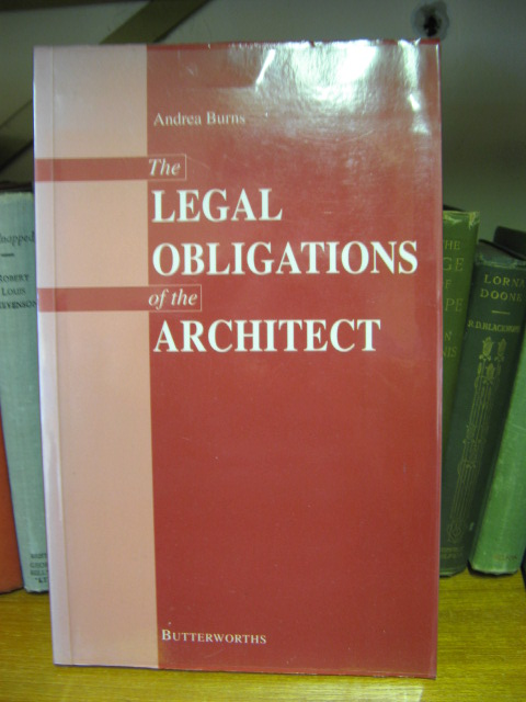 Image for The Legal Obligations of the Architect