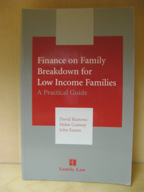 Image for Finance on Family Breakdown for Low Income Families: A Practical Guide
