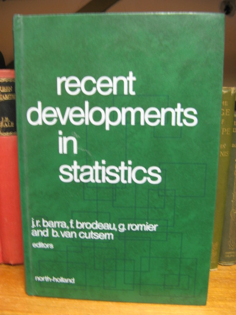 Image for Recent Developments in Statistics