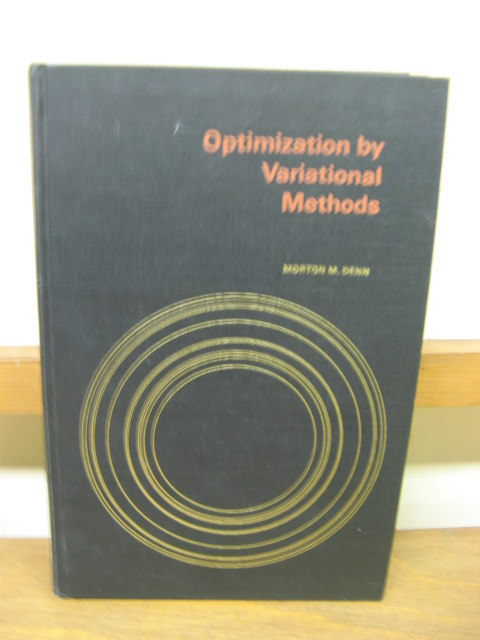 Image for Optimization by Variational Methods