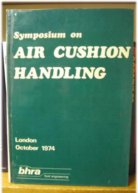 Image for Symposium on Air Cushion Handling, London, October, 1974