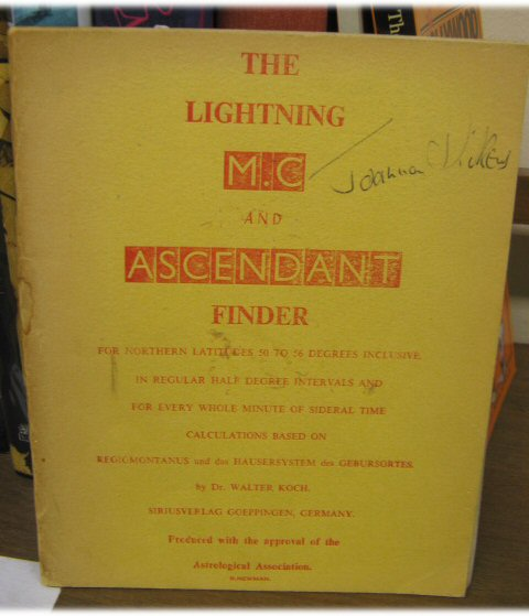 Image for The Lighting M.C. And Ascendant Finder
