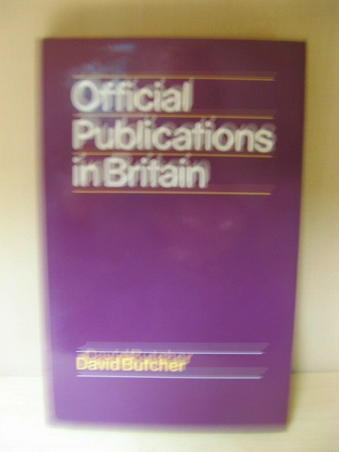 Image for Official Publications in Britain