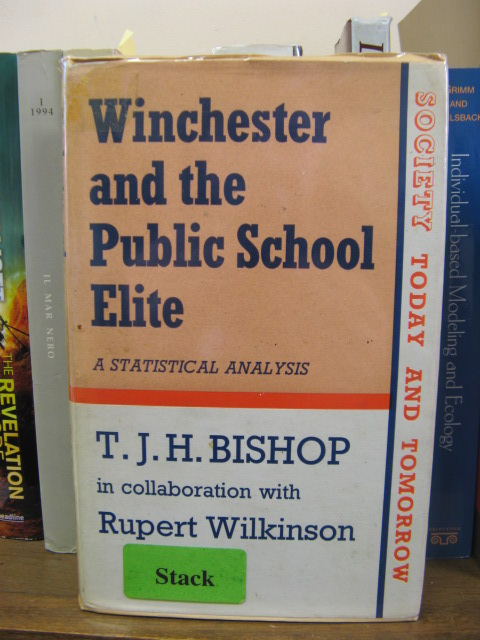 Image for Winchester and the Public School Elite: A Statistical Analysis